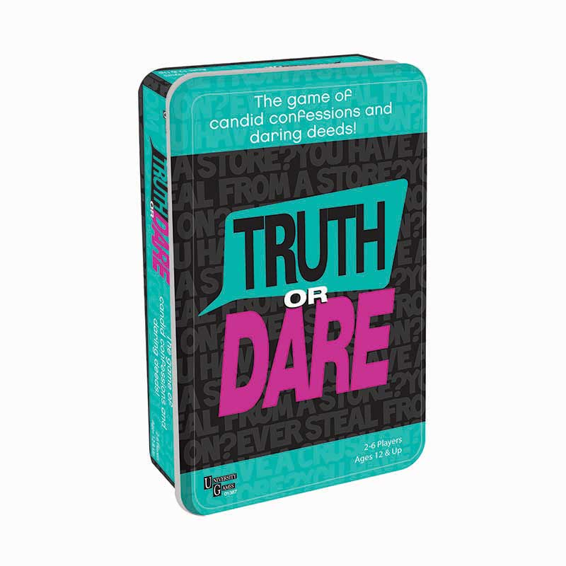 Truth or Dare Tinned Game University Games