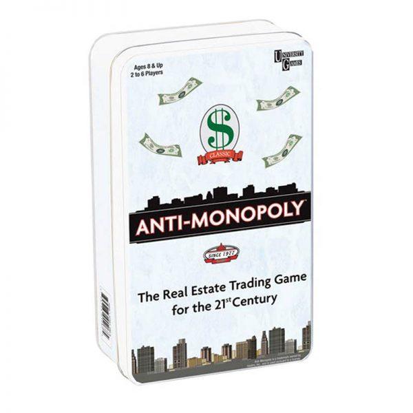 Anti-Monopoly Tin Game