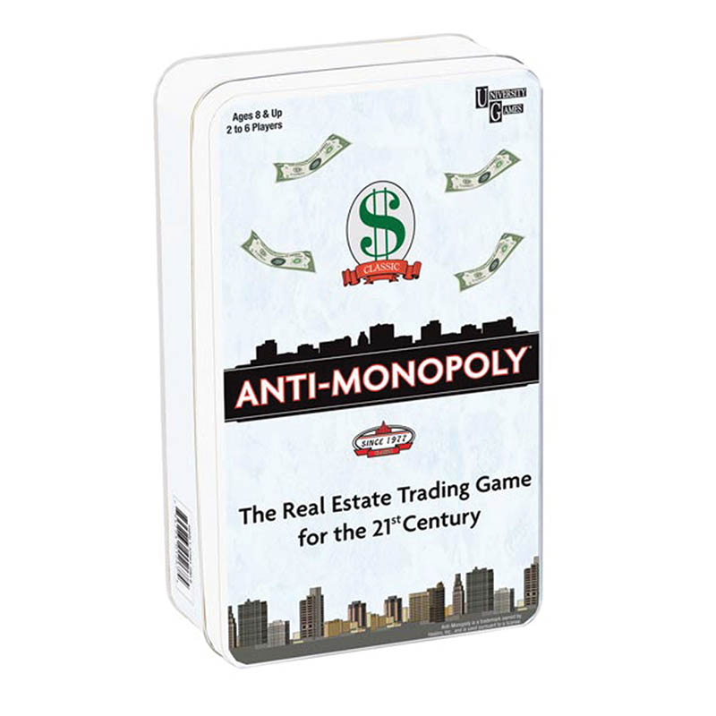Anti-Monopoly Tin Game