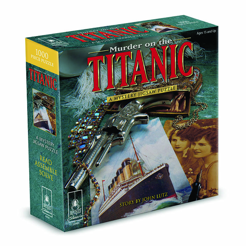 Murder on the Titanic Classic Mystery Jigsaw Puzzle 8 x 8