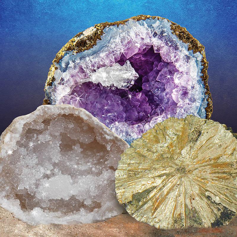 Break Open 2 Real Geodes