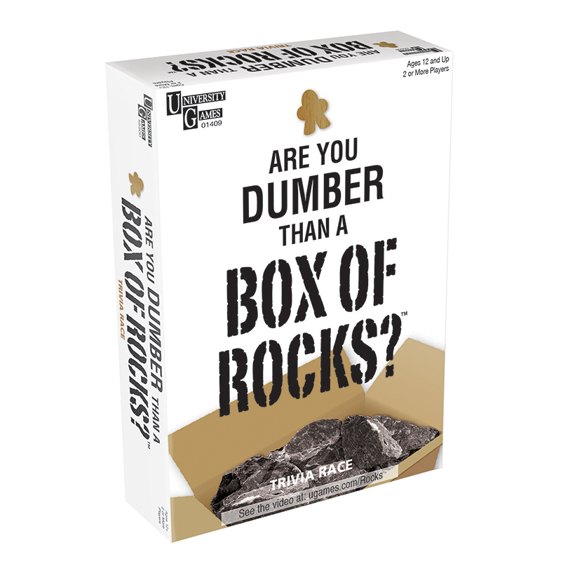 Dumber Than a Box of Rocks
