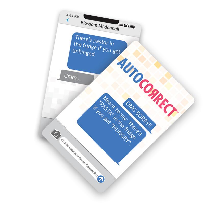 Autocorrect Cards