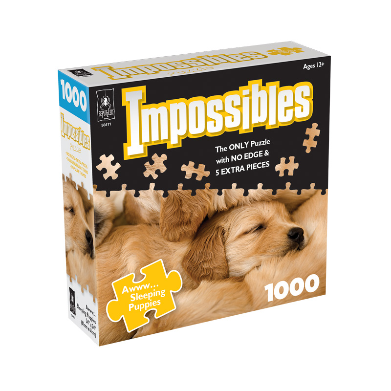 Impossibles Puppies 1000pc Puzzle