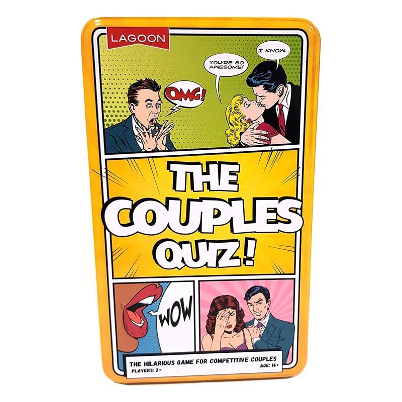 Couples Quiz Tin Game