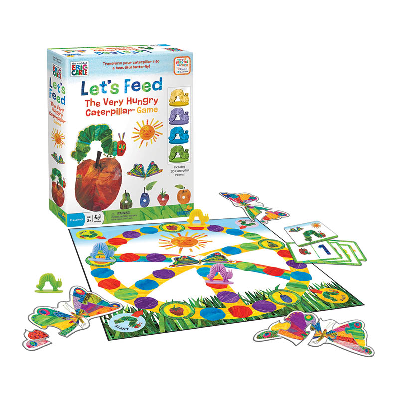 Let S Feed The Very Hungry Caterpillar Game U Games